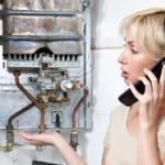 broken gas boiler - replacement boiler needed