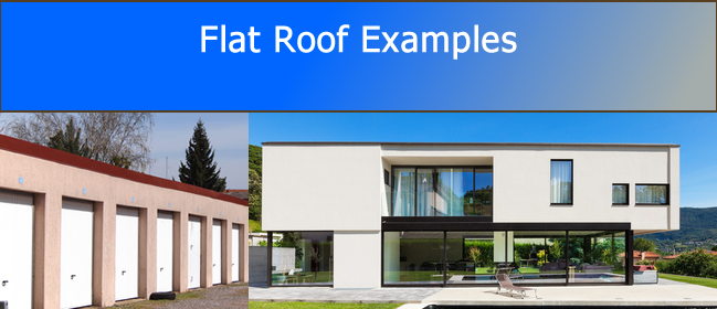 Examples Of Flat Roofs