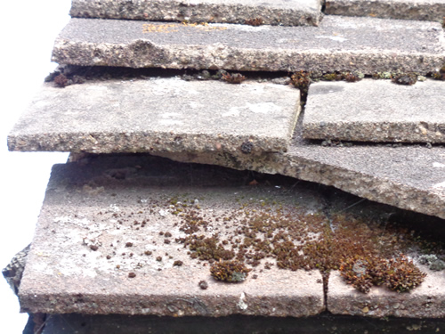 Roof verge without mortar