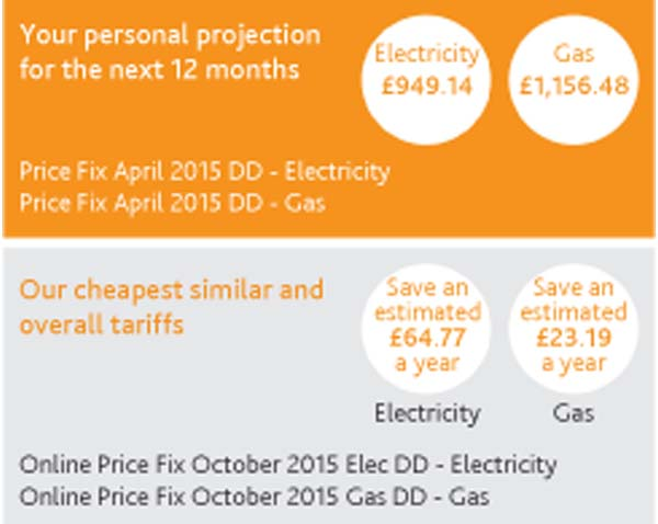 New Style Energy Bill From npower