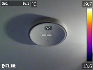 MVHR duct outlet vent