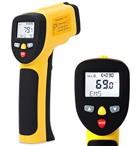 Temperature Gun by EnnoLogic Dual Laser Non-Contact Infrared Thermometer -50°C to 650°C Accurate Digital Surface IR Thermometer