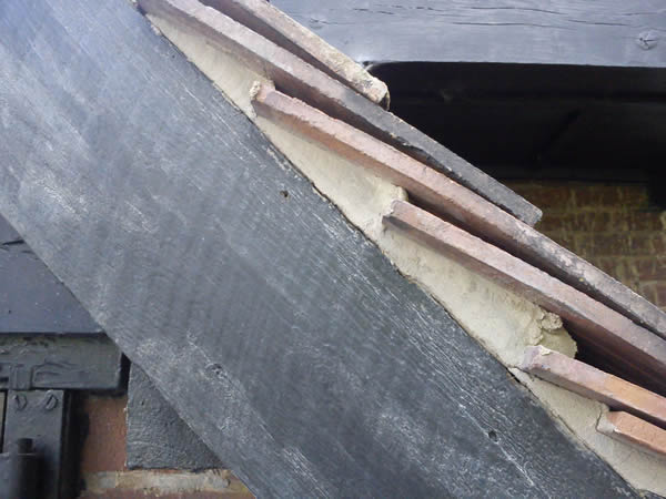 Mortared Roof Verge