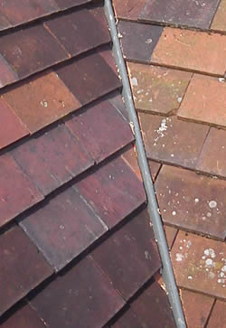 GRP roof valley