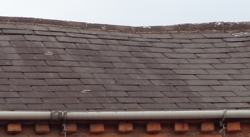 Sagging of Roof