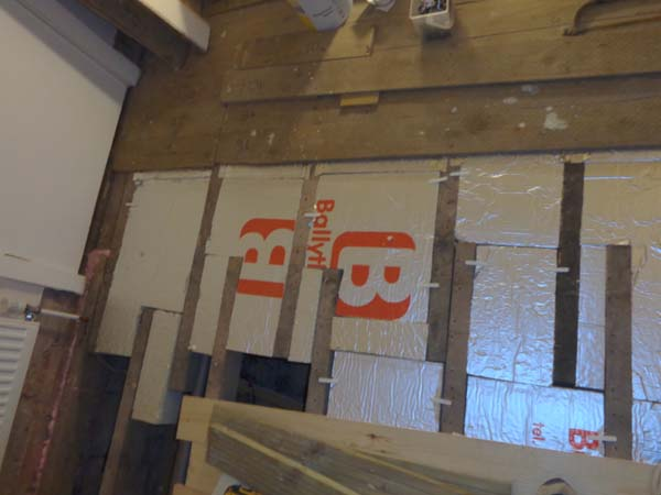 Insulating A Suspended Timber Floor From Above Floor - Great Home