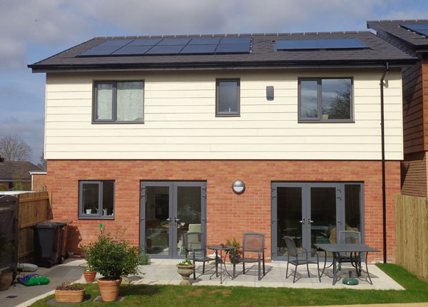 3 Bedroomed House With 2kWp solar PV panels