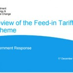 Review Of The Feed-in Tariffs Scheme December 17 2015