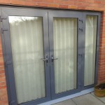 Draughty Lounge French Doors Outside View
