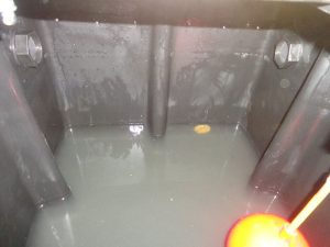 murky water in loft tank