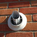Gas boiler flue