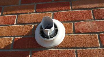 Gas boiler flue, condensing boiler
