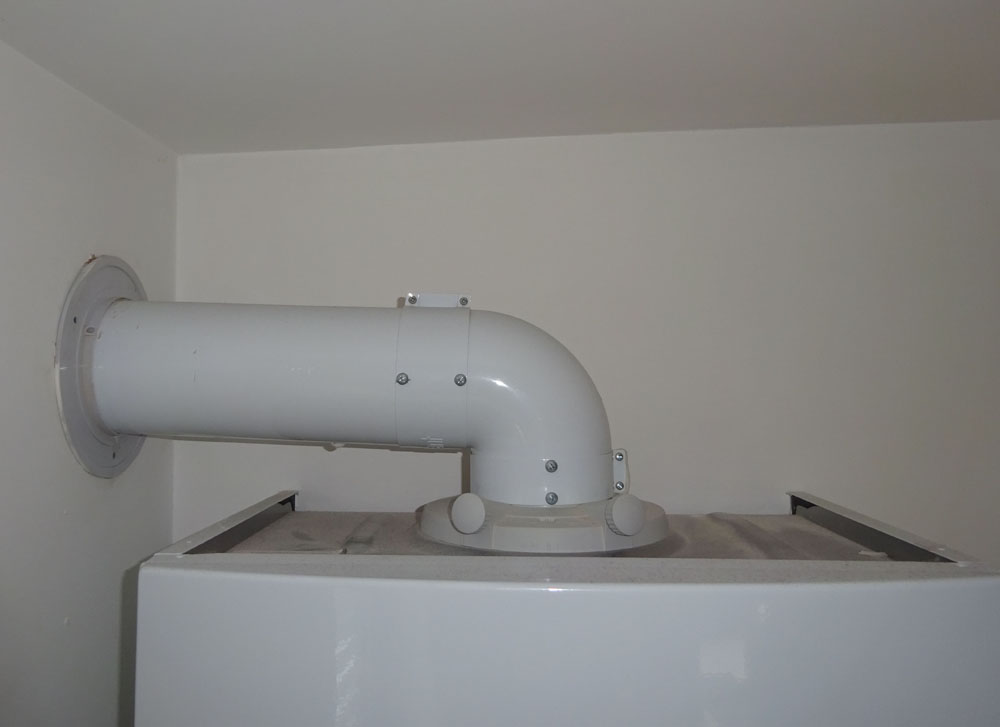 Horizontal Flue For Gas Boiler