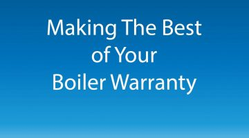 Making The Best of Your Boiler Warranty