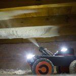 Underfloor Insulation of Suspended Floor Using a Robot